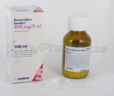 Amoxicilline 500 Mg Infection Urinaire — Amoxicilline